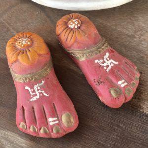 クリシュナの足